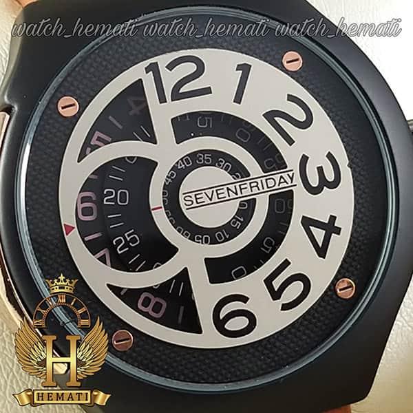 خرید ساعت سون فرایدی های کپی ارزان قیمت مردانه مدل sfm201 8715 بند عسلی صفحه ساعت طوسی