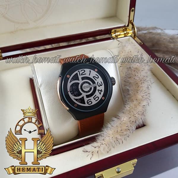 خرید انلاین ساعت سون فرایدی های کپی ارزان قیمت مردانه مدل sfm201 8715 بند عسلی صفحه ساعت طوسی