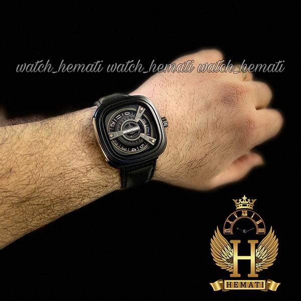خرید ساعت مردانه سون فرایدی SF-M2/01-8800 قاب و بند صفحه مشکی صفحه مربع