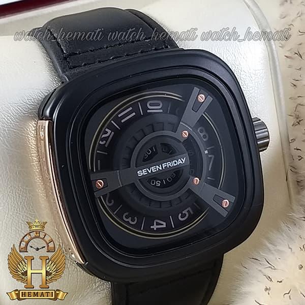 قیمت ساعت مردانه سون فرایدی SF-M2/01-8800 قاب و بند صفحه مشکی صفحه مربع