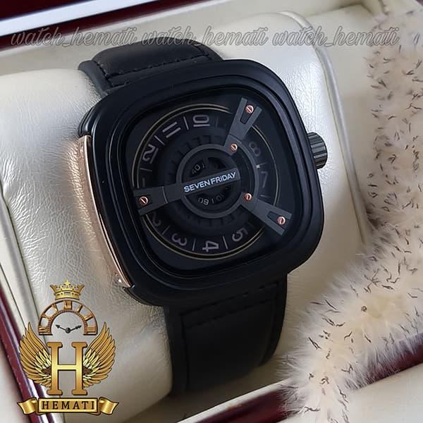 خرید انلاین ساعت مردانه سون فرایدی SF-M2/01-8800 قاب و بند صفحه مشکی صفحه مربع