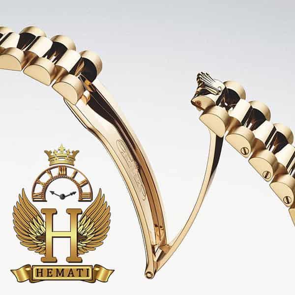قفل ساعت زنانه رولکس دیت جاست Rolex Datejust RODJL32401 رزگلد دور قاب ساده و قطر 32 میلیمتر