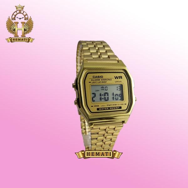 ساعت اسپرت کاسیو CASIO N561L طلایی دورقاب طلایی دیجیتالی