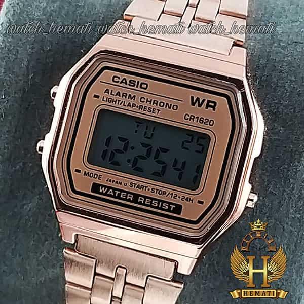 خرید ، قیمت ، مشخصات ساعت زنانه کاسیو نوستالژی CASIO A159WA-1 رزگلد