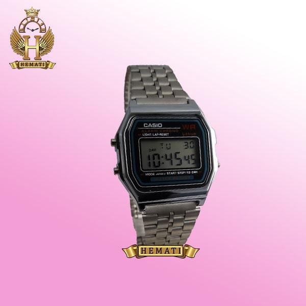 خرید ساعت اسپرت کاسیو CASIO M901L نقره ای کپی دیجیتالی