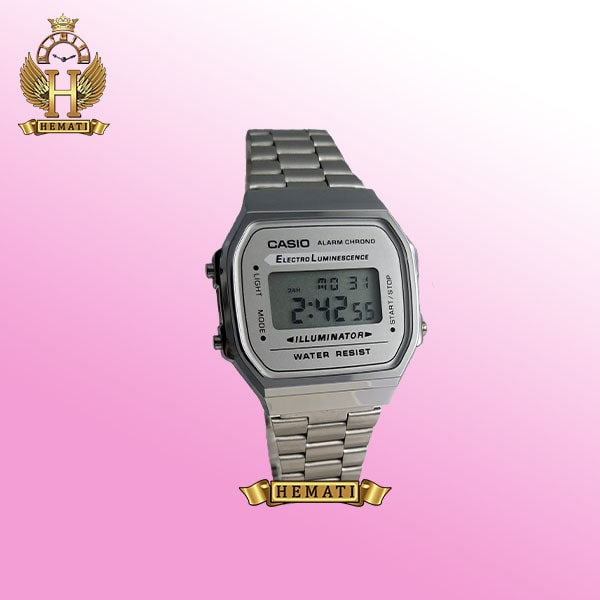 ساعت اسپرت کاسیو CASIO H765G نقره ای دیجیتالی
