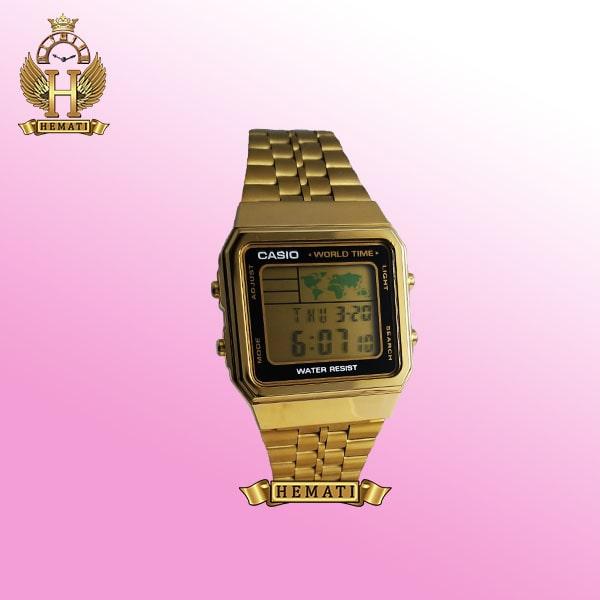 خرید ساعت اسپرت کاسیو نوستالژی CASIO G340M طلایی