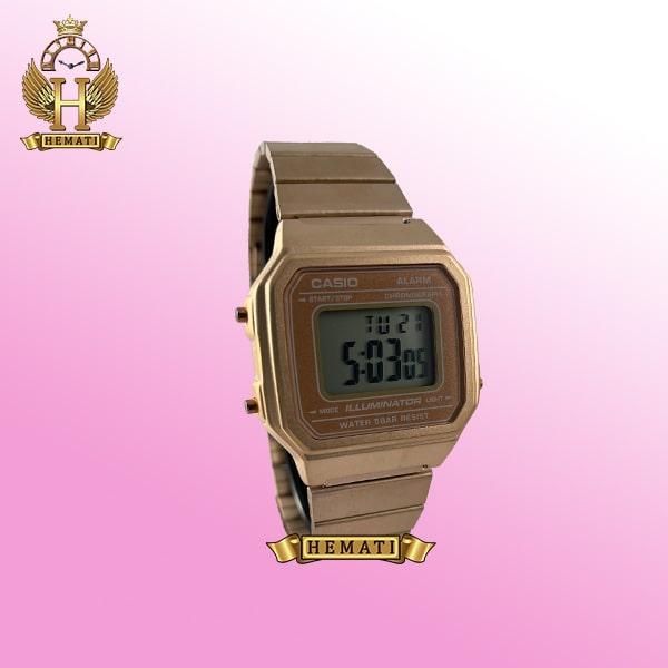 ساعت اسپرت کاسیو نوستالژی CASIO R540H رزگلد دیجیتالی