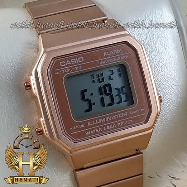 خرید ساعت اسپرت کاسیو نوستالژی CASIO A650W رزگلد