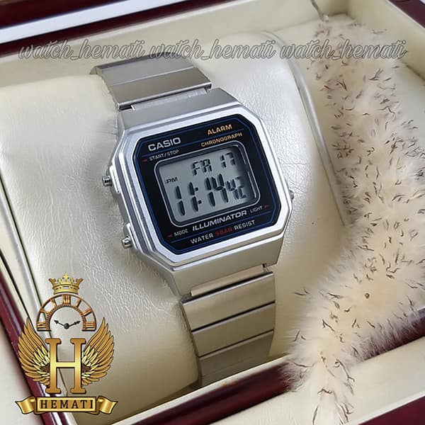 قیمت ساعت اسپرت کاسیو نوستالژی CASIO B650W نقره ای