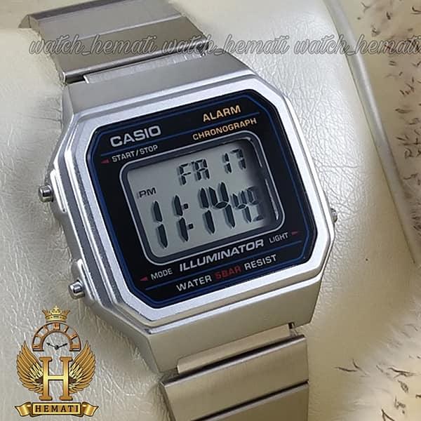 مشخصات ساعت اسپرت کاسیو نوستالژی CASIO B650W نقره ای