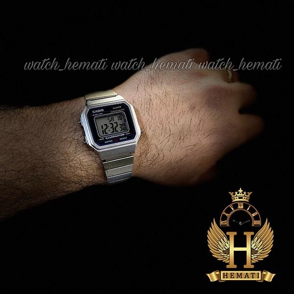 خرید انلاین ساعت اسپرت کاسیو نوستالژی CASIO B650W نقره ای