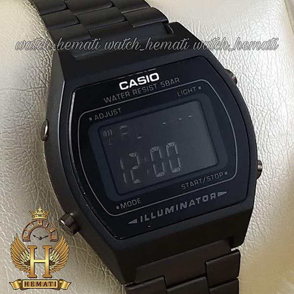 مشخصات ساعت اسپرت کاسیو نوستالژی CASIO B640W مشکی