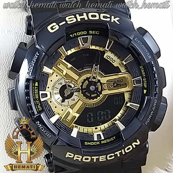 ساعت اسپرت مردانه کاسیو جی شاک Casio G-Shock GA-110GB مشکی