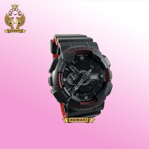 ساعت مردانه کاسیو جی شاک Casio G-Shock GA-110-HR مشکی قرمز