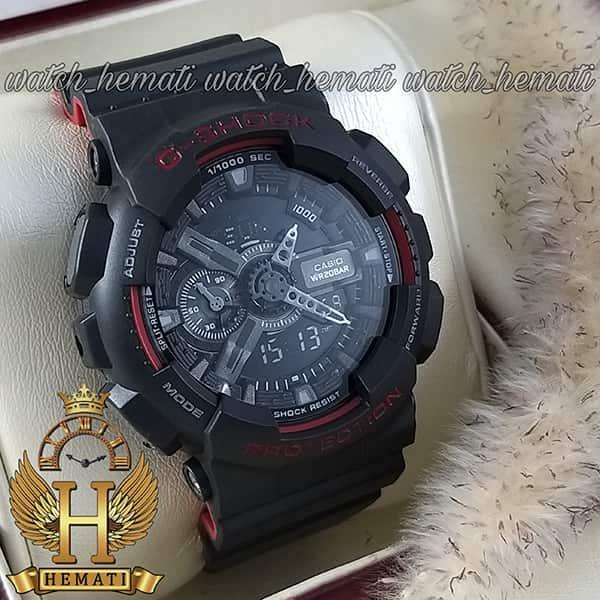 خرید اینترنتی ساعت مردانه کاسیو جی شاک Casio G-Shock GA-110-HR