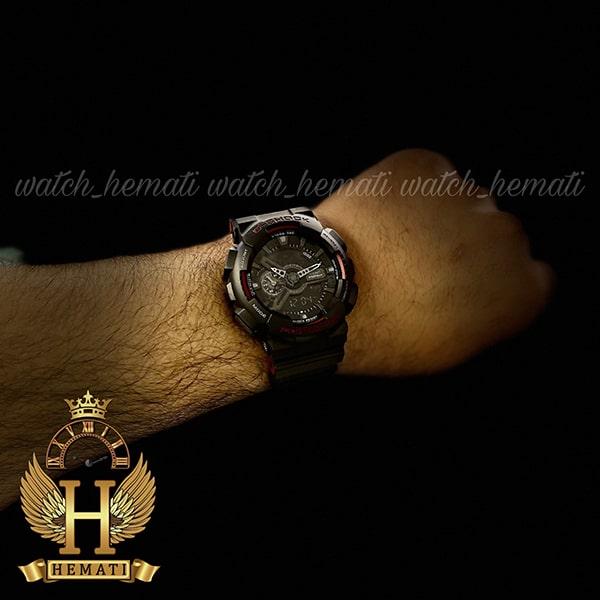 خرید انلاین ساعت مردانه کاسیو جی شاک Casio G-Shock GA-110-HR