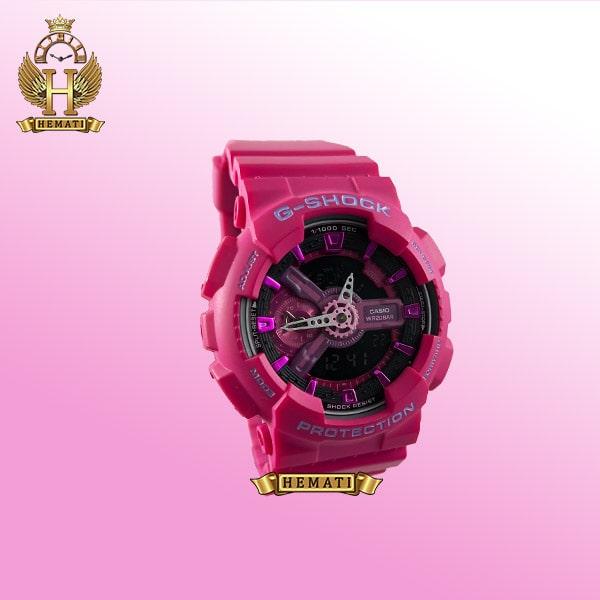 ساعت اسپرت کاسیو جی شاک Casio G-Shock GA-110-MP سرخابی