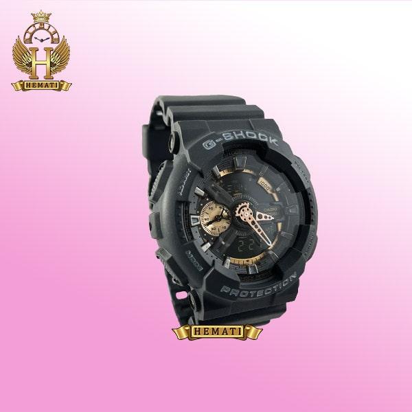 خرید ساعت مردانه کاسیو جی شاک مدل Casio G-Shock GA-110-RC مشکی دارای تقویم