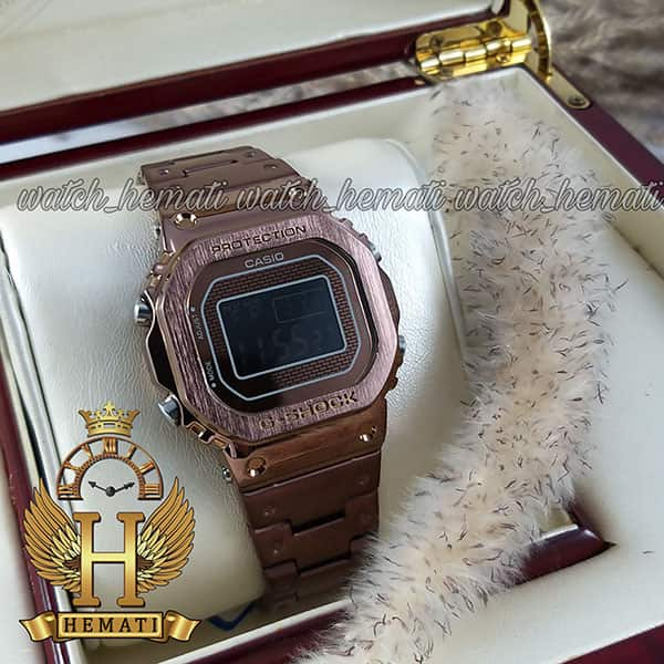 مشخصات ساعت مردانه کاسیو جی شاک پروتکشن CASIO G-SHOCK GMW-B5000 کافی