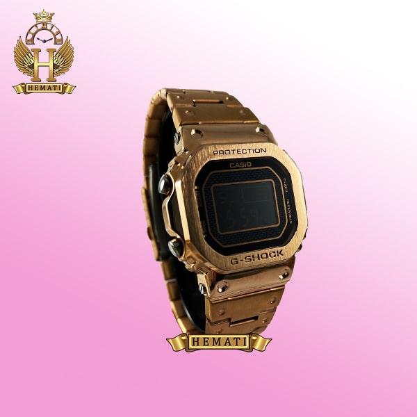 ساعت مردانه کاسیو جی شاک پروتکشن CASIO G-SHOCK RSL-T5000 رزگلد