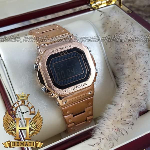 مشخصات ساعت مردانه کاسیو جی شاک پروتکشن CASIO G-SHOCK GMW-B5000 رزگلد