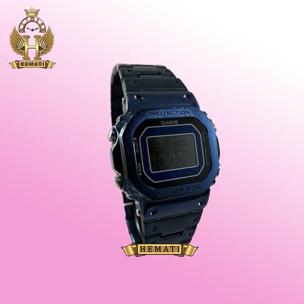 خرید ساعت مردانه کاسیو جی شاک پروتکشن CASIO G-SHOCK BLU-E4000 سرمه ای دیجیتالی