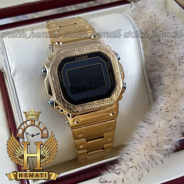مشخصات ساعت مردانه کاسیو جی شاک پروتکشن CASIO G-SHOCK GMW-B5000 طلایی