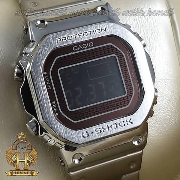خرید اینترنتی ساعت مردانه کاسیو جی شاک پروتکشن CASIO G-SHOCK GMW-B5000 نقره ای