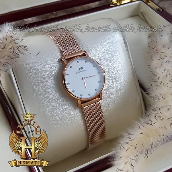 خرید ارزان ساعت زنانه دنیل ولینگتون Daniel Wellington DWL10 رنگ رزگلد قطر 26 میلیمتر