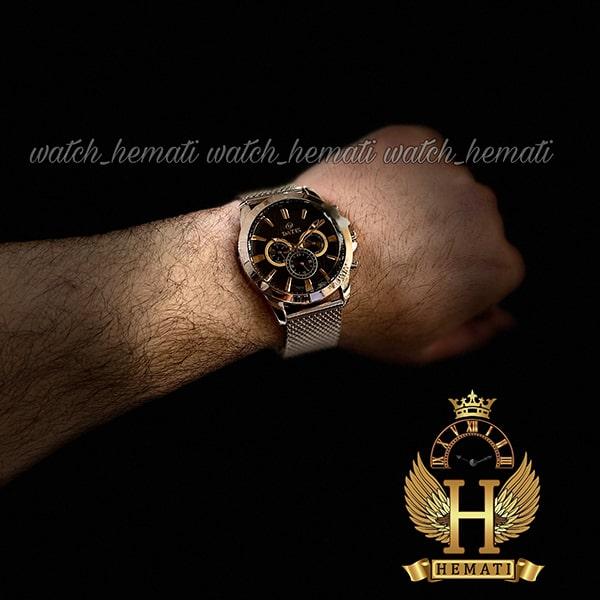 خرید اینترنتی ساعت مردانه داتیس 3موتوره بند حصیری اورجینال شرکتی DATIS D8307FG