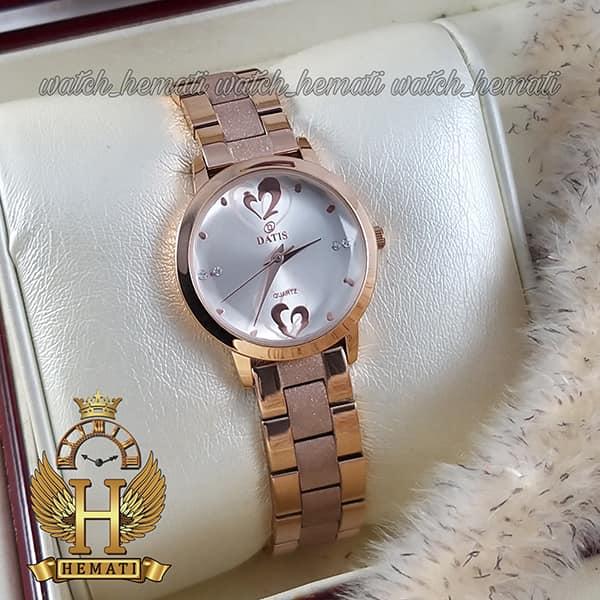 خرید ساعت مچی زنانه داتیس مدل DATIS D8368CL رنگ رزگلد