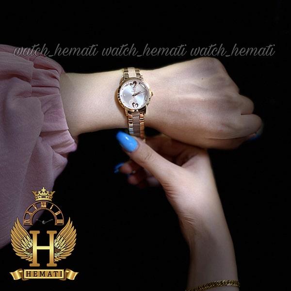ساعت زنانه داتیس رنگ رزگلد مدل DATIS D8368CL