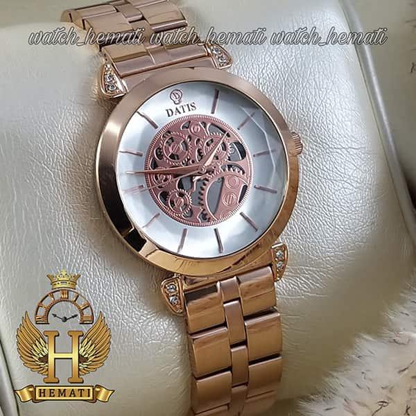 خرید اینترنتی ساعت مچی زنانه داتیس مدل D8399CL رنگ رزگلد