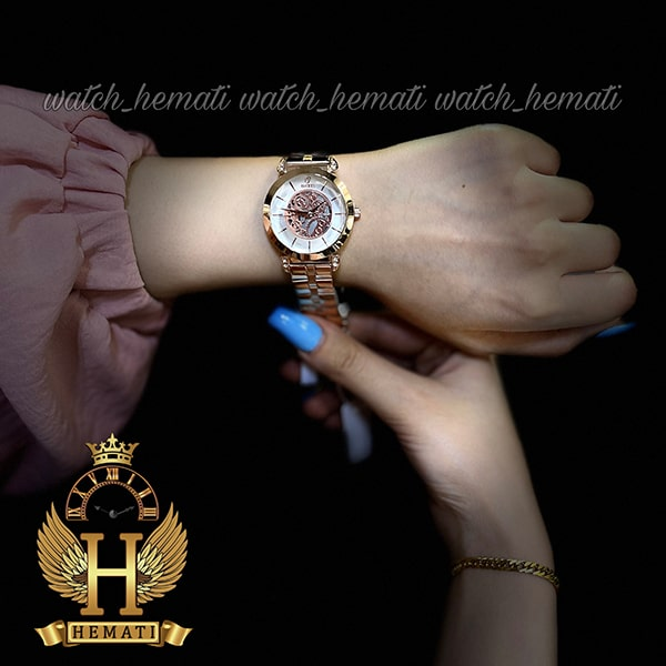 ساعت مچی زنانه داتیس مدل D8399CL رنگ رزگلد