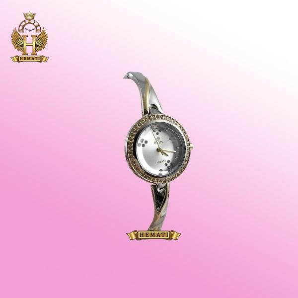 خرید ساعت زنانه داتیس مدل DATIS D8428L نقره ای طلایی