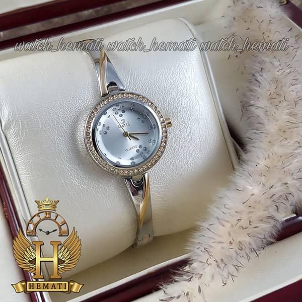 ساعت زنانه داتیس مدل DATIS D8428L نقره ای طلایی