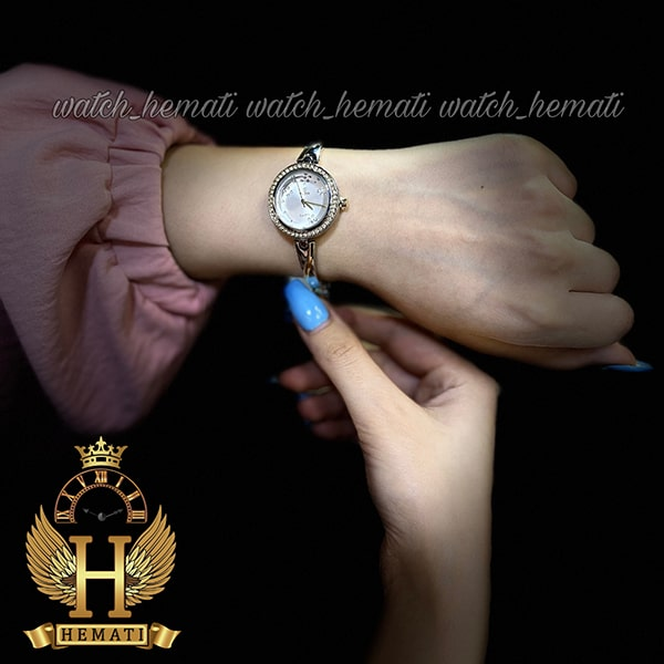 قیمت ساعت زنانه داتیس اورجینال مدل DATIS D8428L نقره ای طلایی