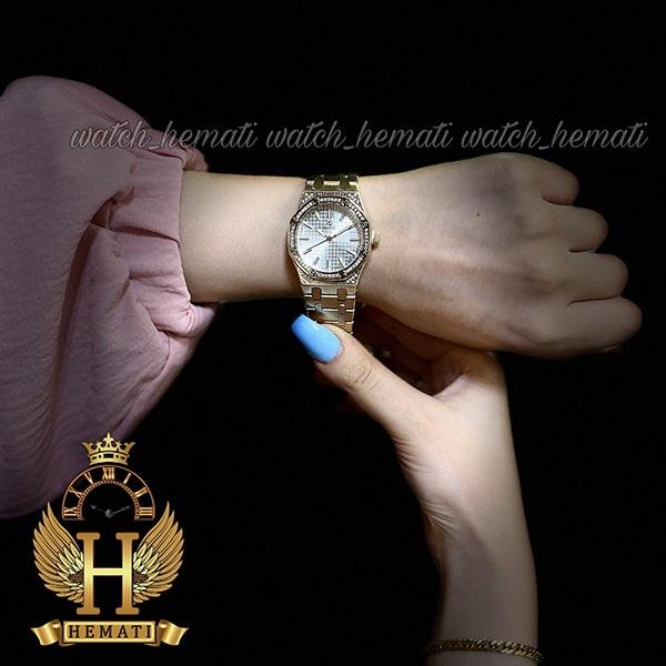 خرید اینترنتی ساعت زنانه داتیس مدل DATIS D8442L طلایی