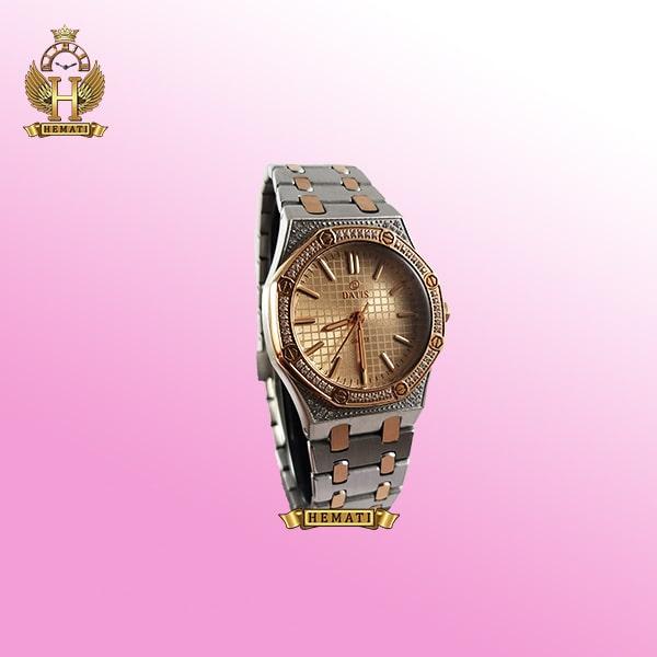 خرید ساعت زنانه داتیس مدل DATIS D8442L نقره ای رزگلد شیشه کافی