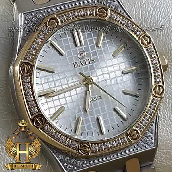 قیمت ساعت زنانه داتیس مدل DATIS D8442L نقره ای طلایی طرح ایپی