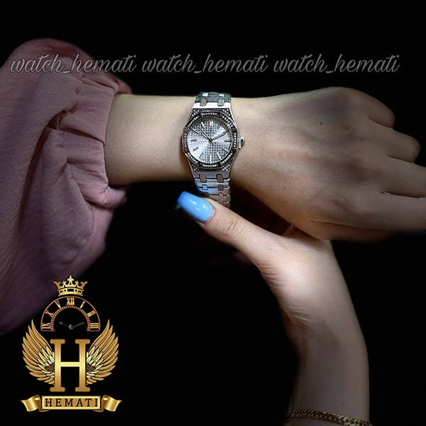خرید اینترنتی ساعت زنانه داتیس مدل DATIS D8442L نقره ای