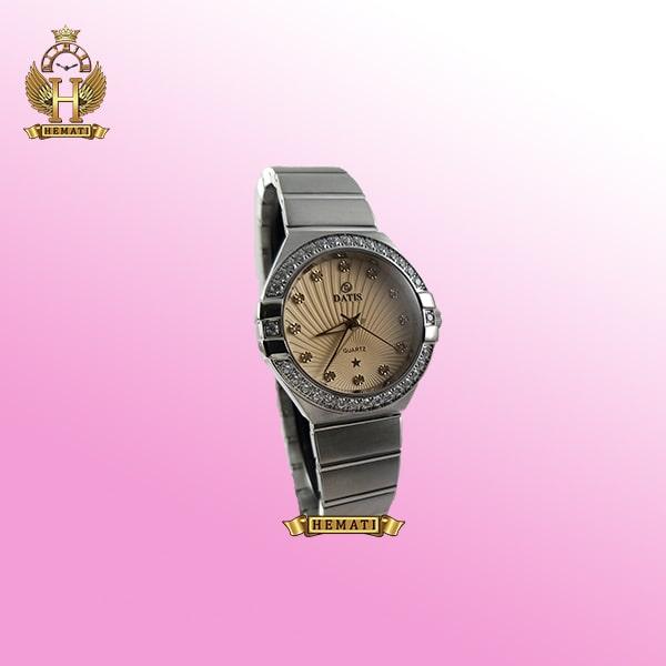 خرید ساعت زنانه داتیس طرح امگا کانستلاکشن DATIS D8444L نقره ای شیشه کافی