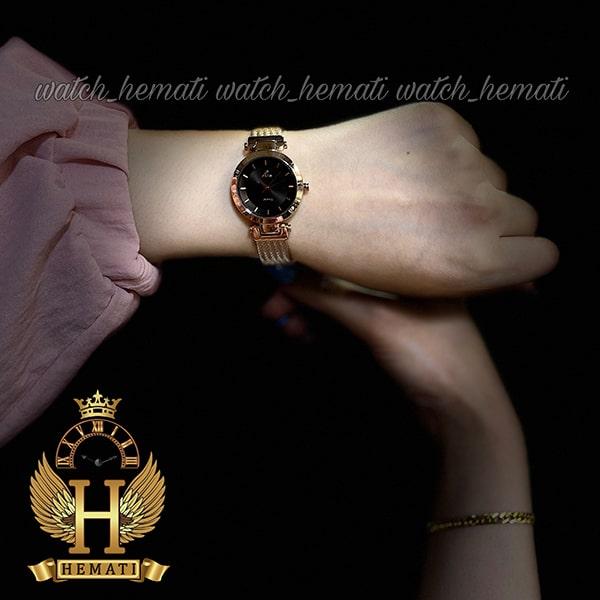 خرید انلاین ساعت زنانه داتیس مدل DATIS D8509EL شیشه کافی