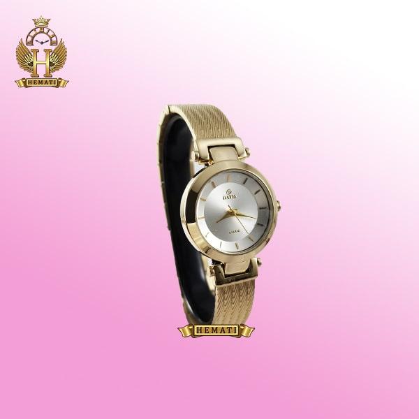 خرید ساعت زنانه داتیس طلایی مدل DATIS D8509EL طرح سیم بکسل