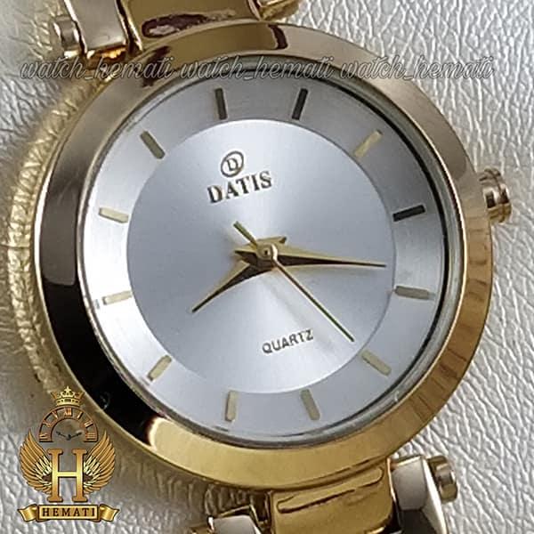 قیمت ساعت زنانه داتیس طلایی طرح سیم بکسل مدل DATIS D8509EL