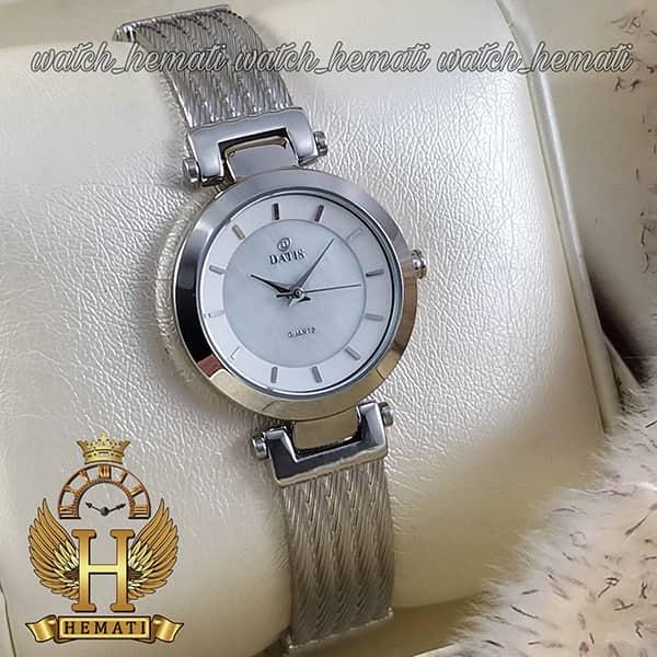 ساعت مچی زنانه طرح سیم بکسل مدل DATIS D8509EL نقره ای