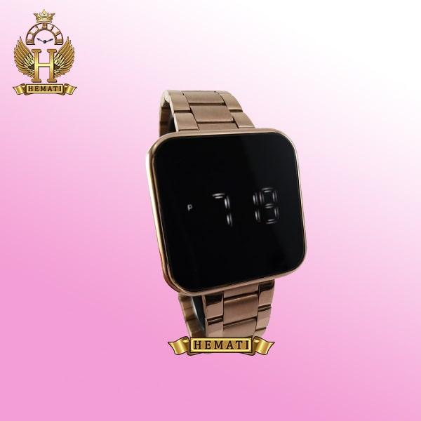 خرید ساعت ال ای دی داتیس مدل DATIS LED D8488AL رنگ رزگلد