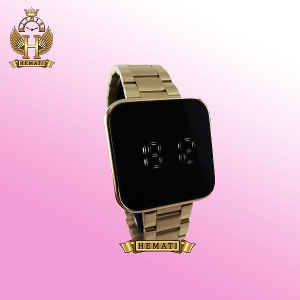 خرید ساعت ال ای دی داتیس مدل DATIS LED D8488AL رنگ طلایی