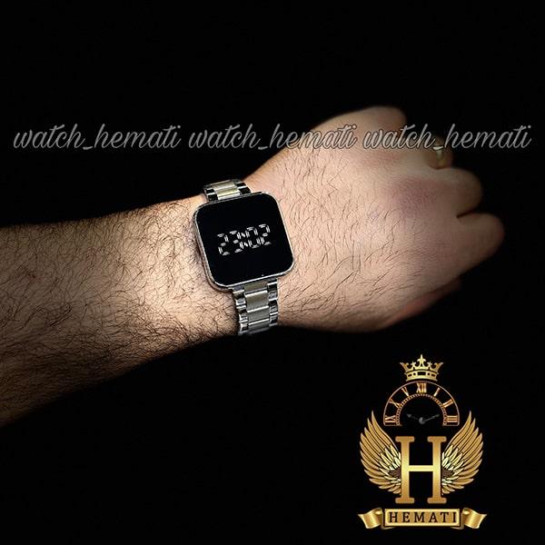خرید انلاین ساعت ال ای دی داتیس مدل DATIS LED D8488AL رنگ نقره ای